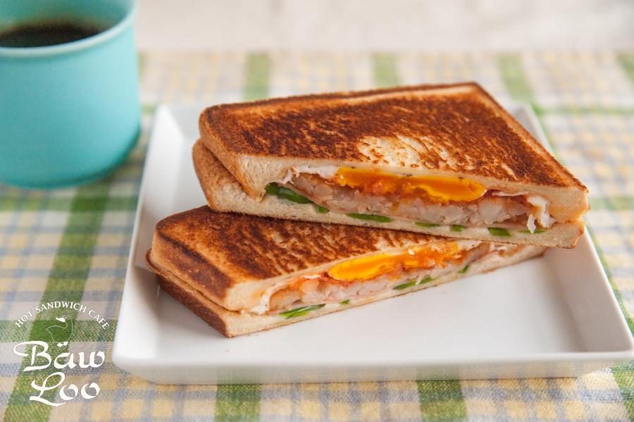 よくばりワンプレート朝食サンド